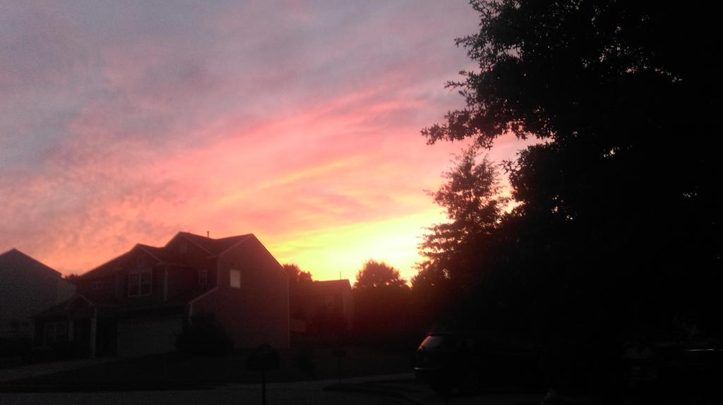 Suburban Sunset by error-macro5