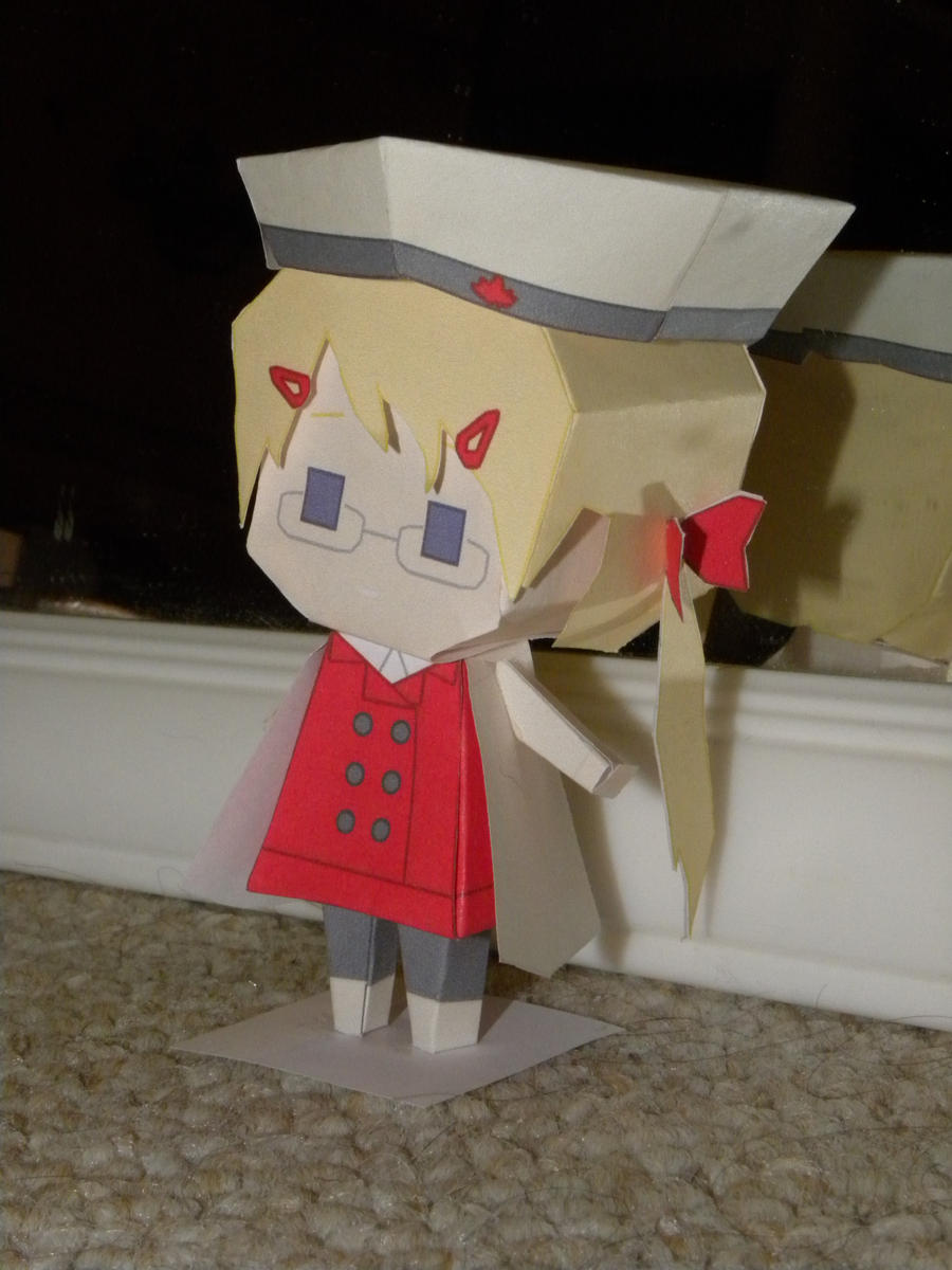 canadako finished papercraft by randommanatee