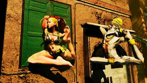 Street Fighter 5 Barefoot Ryona 6