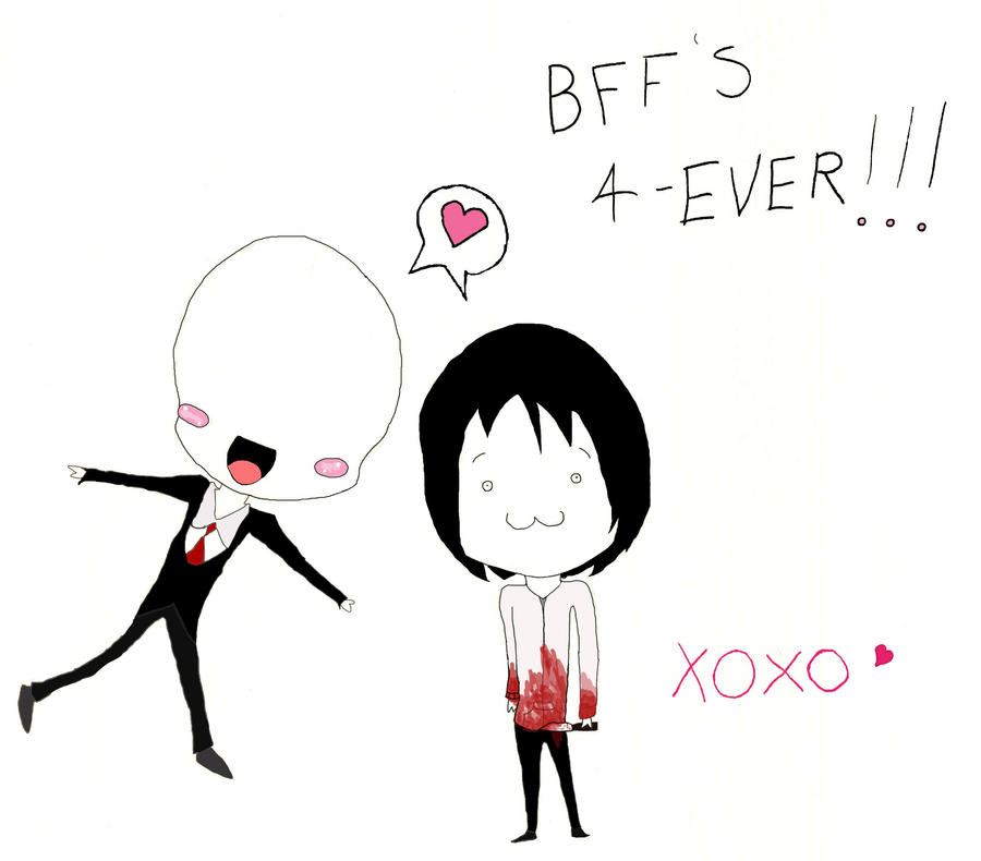 Slenderman and Jeff the killer - Best of friends by Fong ...