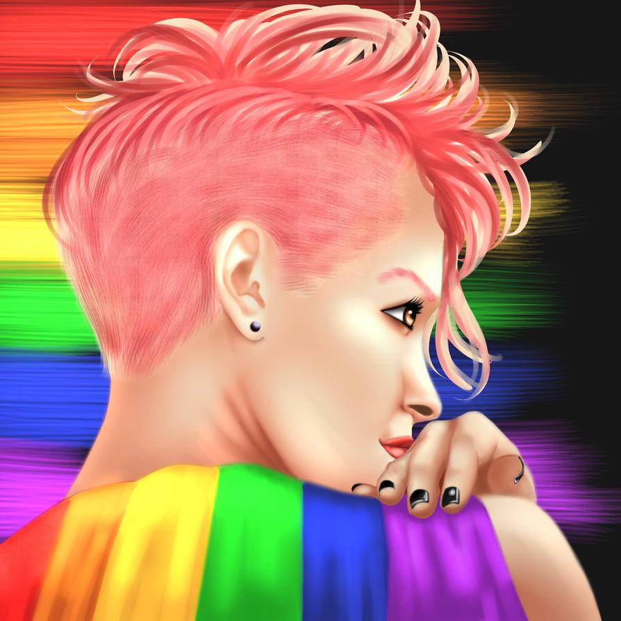 2018 Pride by CaraSilvaArt