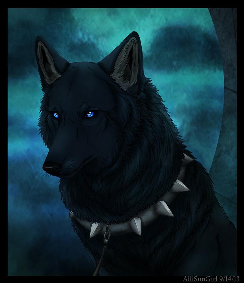 Dog Collar With Moon