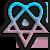 Heartagram logo. by AstroZombie95