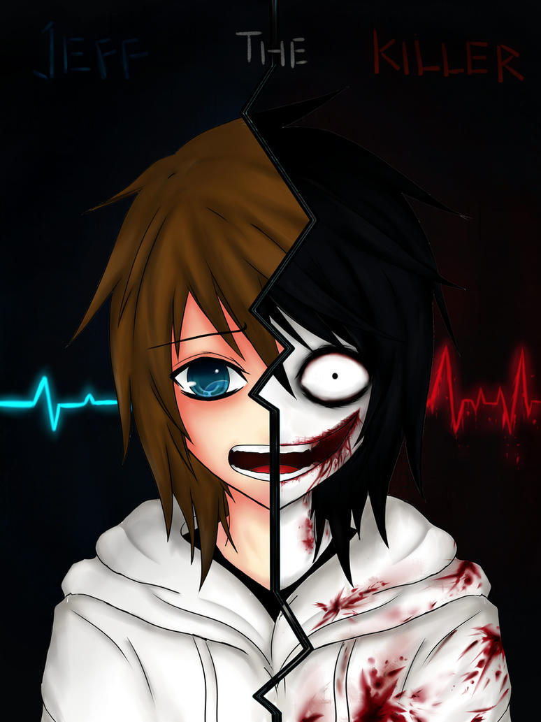 Jeff The Killer Before And After By Ren Ravie