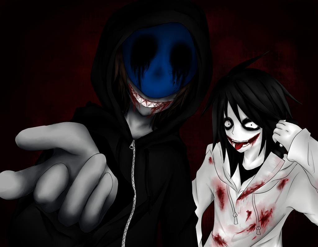 Eyeless Jack and Jeff The Killer by Ren-Ryuki