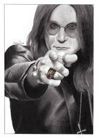 Ozzy Osbourne by M-a-r-c-o