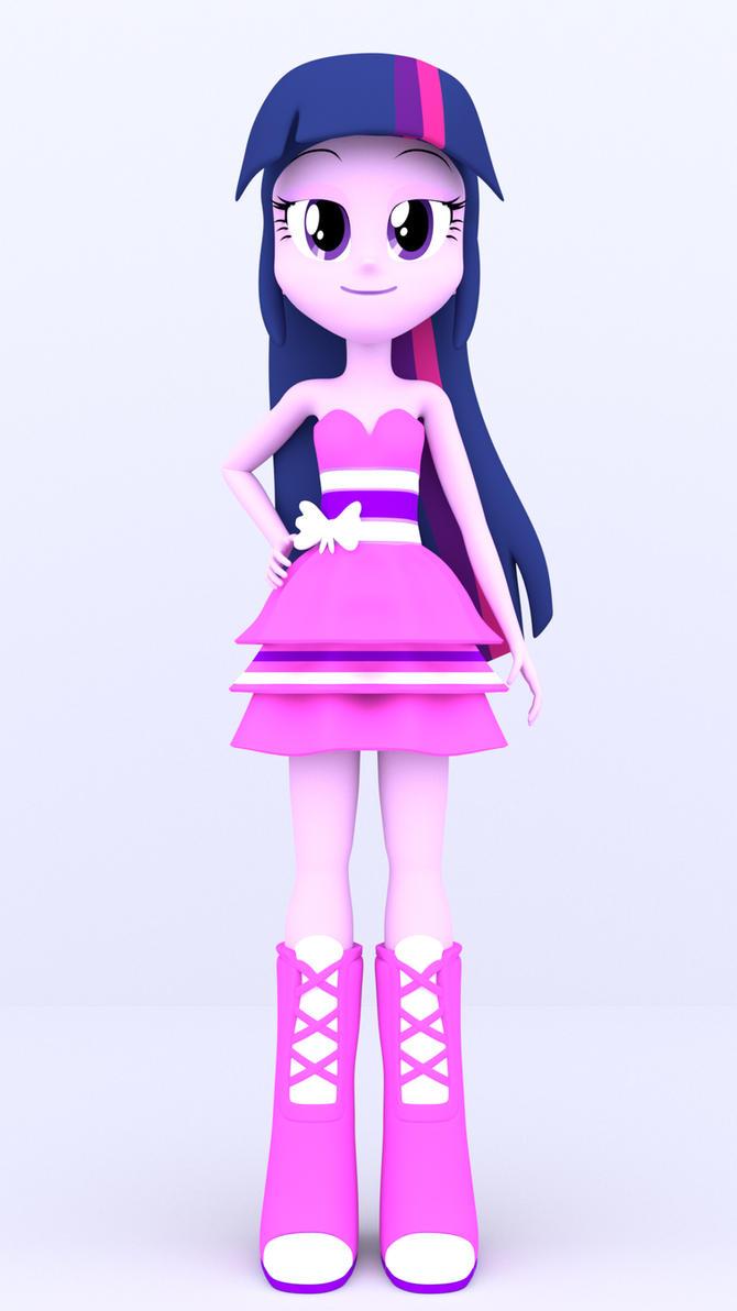 3D Twilight Sparkle Prom Dress by MKevinAdam on DeviantArt