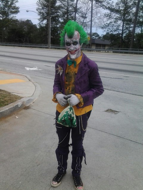 Arkham City Sick Joker by AsylumKlown