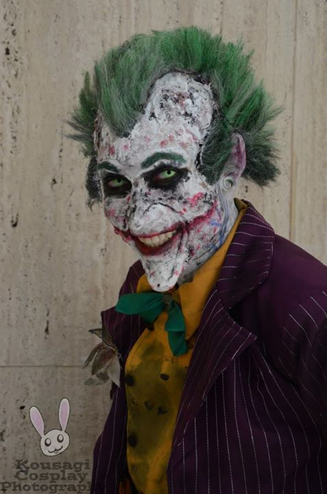 arkham city Joker Cosplay by AsylumKlown