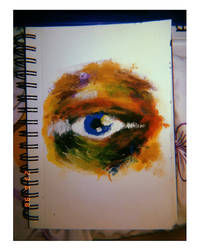 rainbow eye by ELENTARIx
