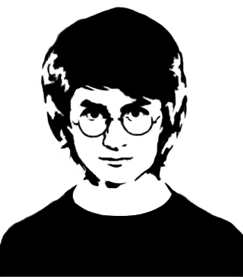 Harry Potter Stencil by simena1 on DeviantArt