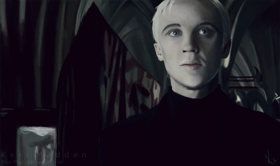 Draco Malfoy Digital Painting by Miss-Madd