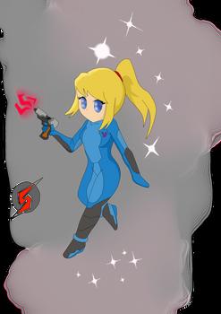 Zero Suit Samus: Chibi V 2.0 by JokerzBee