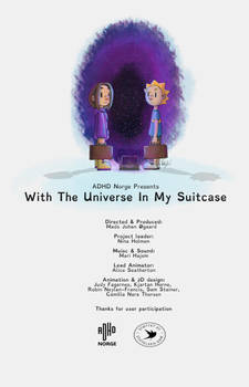 With The Universe In My Suitcase - Poster
