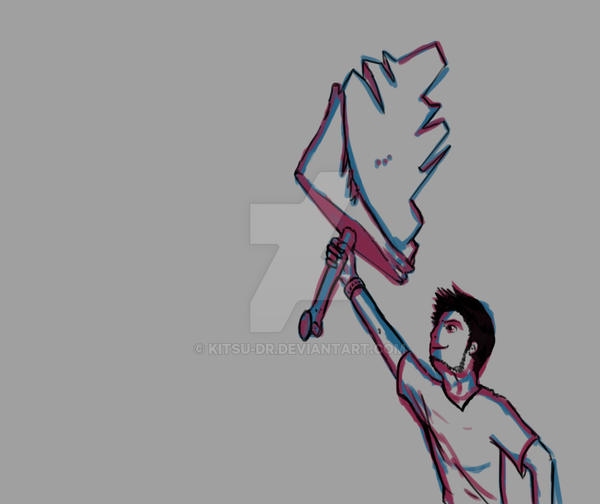 Ima be a Warrior by Kitsu-DR