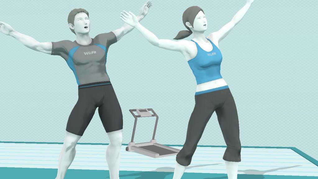 Resultado de imagen de wii fit trainer