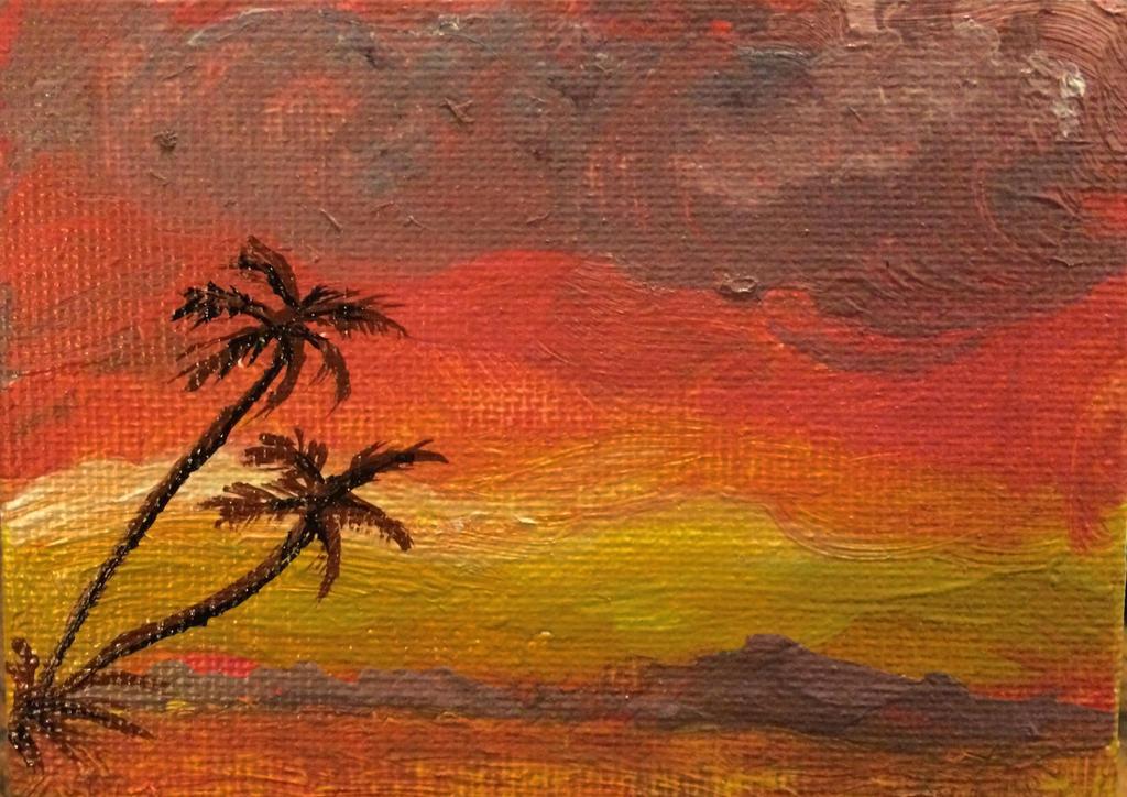 Tropical Sunset by UtterlyAbsurdBella