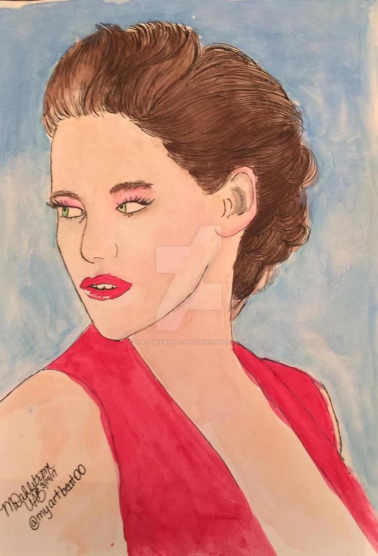 Kristen Stewart by UtterlyAbsurdBella