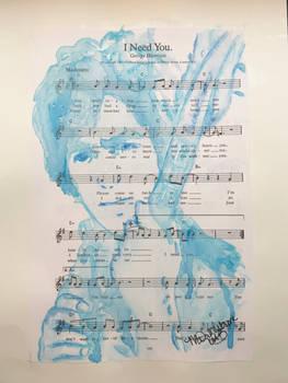 George Harrison I Need You