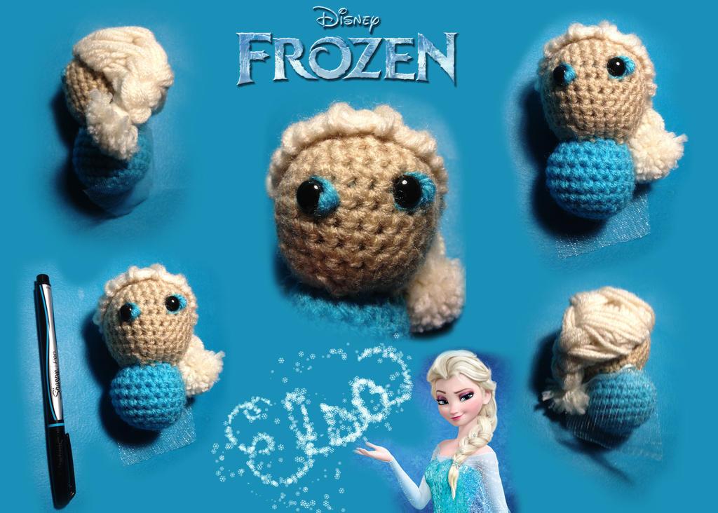 Amigurumi Chibi Doll : Chibi crochet elsa larger by xilarae on deviantart