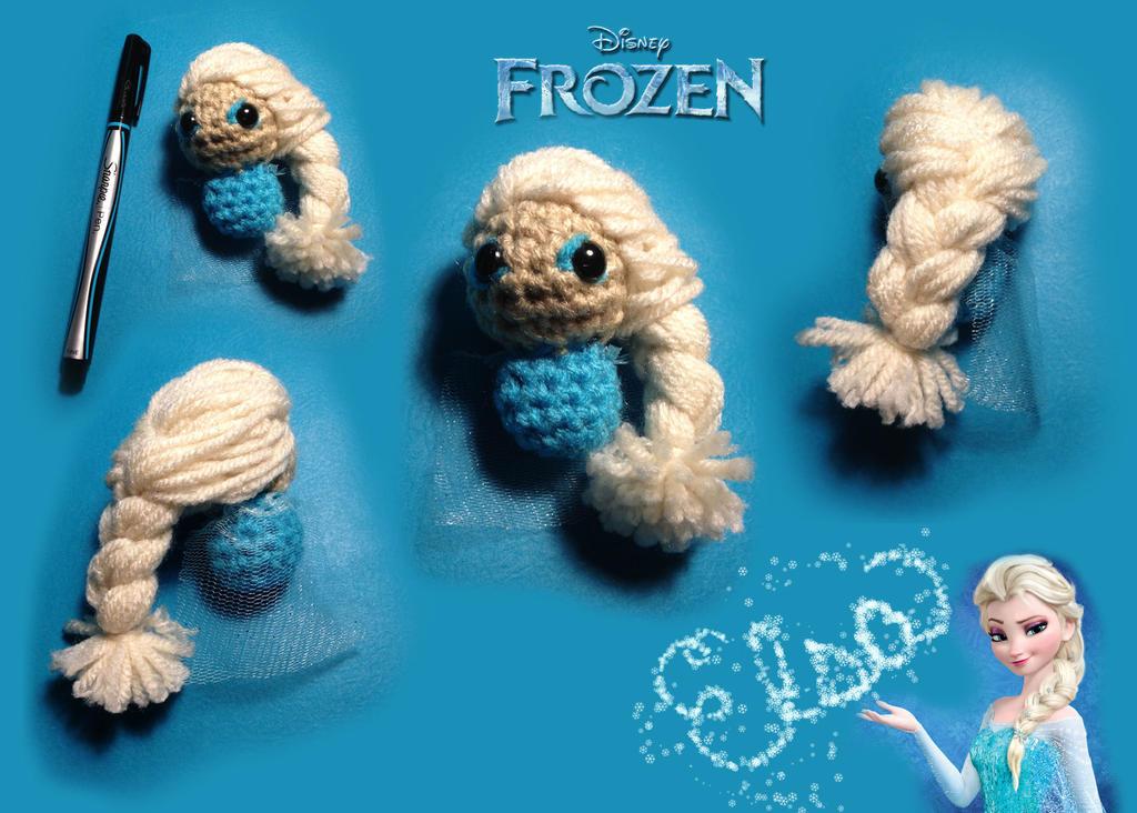 Amigurumi Chibi Doll : Chibi crochet elsa frozen by xilarae on deviantart