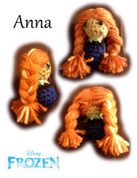 Chibi Disney Princesses - Anna