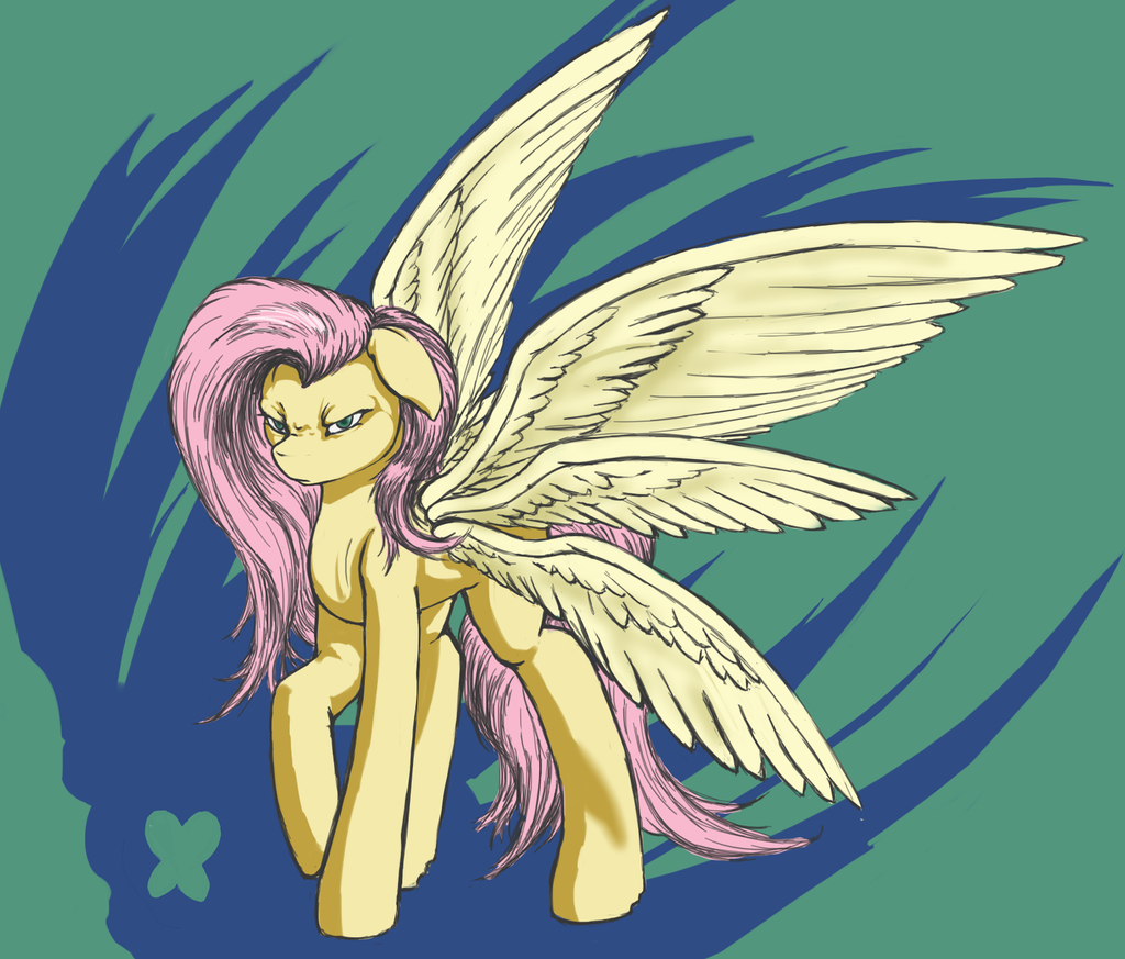 Arch-Fluttershy by VicmanOne