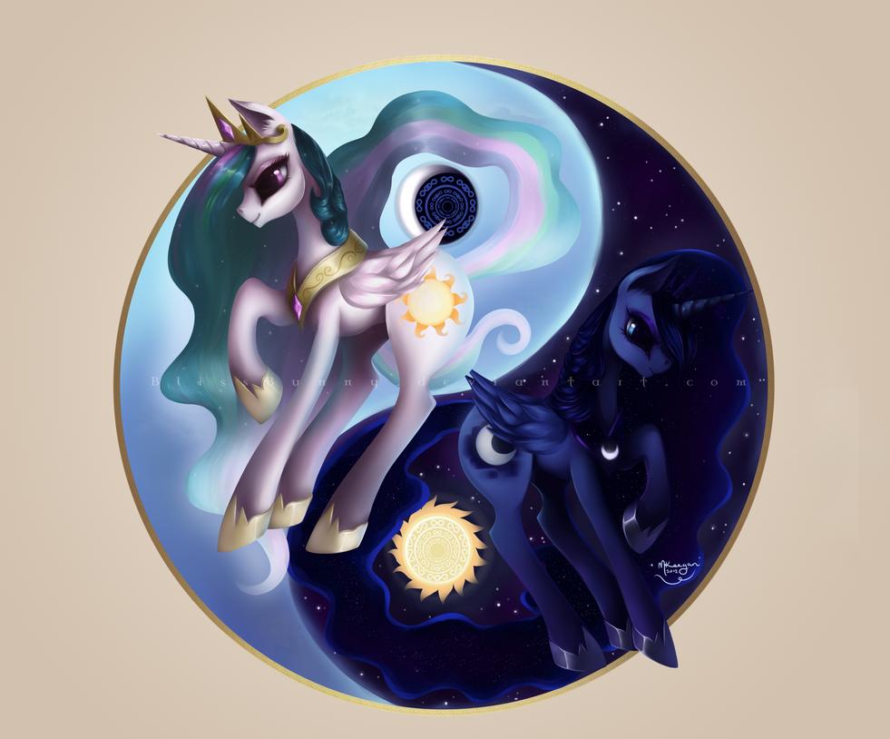 Equestrial Balance by Felynea
