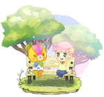 ACNL Commission (Stitches)