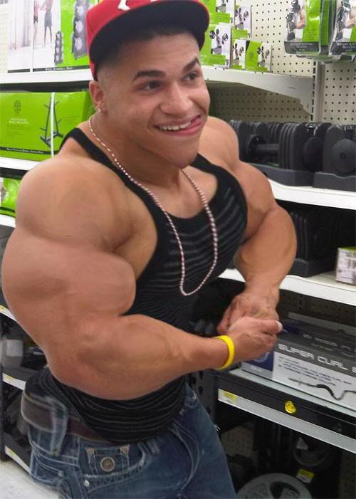 Mexican macho muscle by kookoomoo