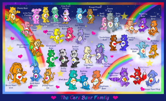 The Care Bear Family