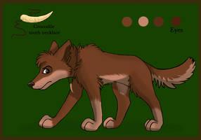 Lexis(?) (Dingo design for Silvixen) by PraiseCastiel