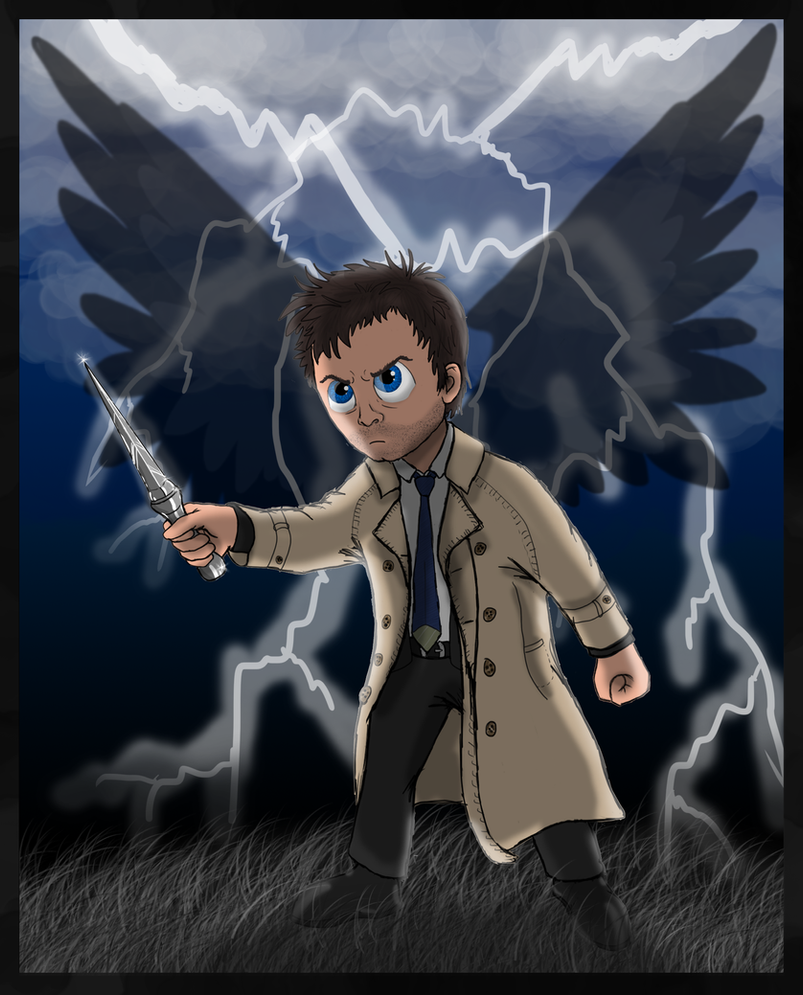 Don't fuck with Cas! by iFoxSpirit