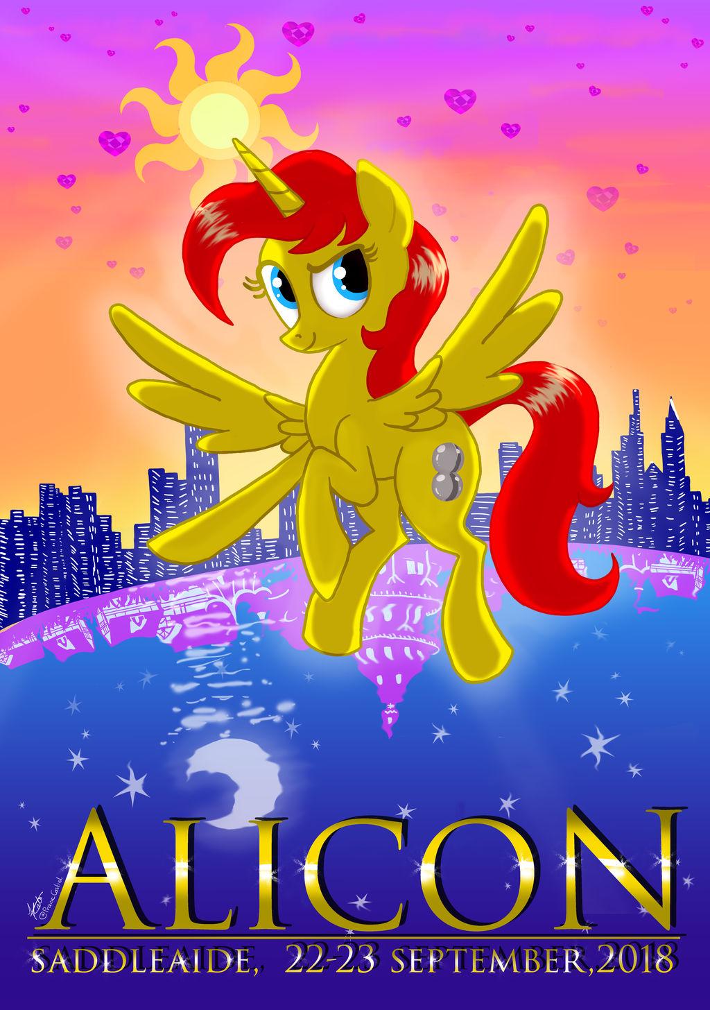 Alicon 2018 poster, Winning Design by PraiseCastiel
