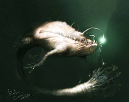 Bad Whale - Monster by DRamphStudio