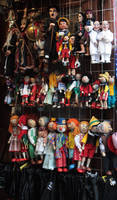 Puppets from Praha