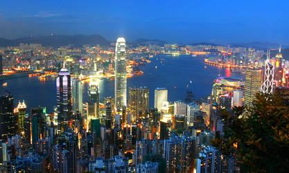 Hong Kong Skyline by HKHSBC