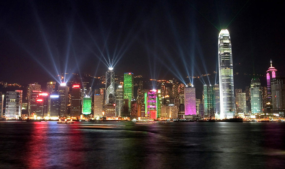 Hong Kong Symphony of Light by HKHSBC