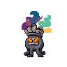 Tinkot Sprite by pokemonviolet
