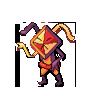 Legendary: Mirgami Sprite by pokemonviolet