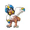 Atenawk Resprite by pokemonviolet