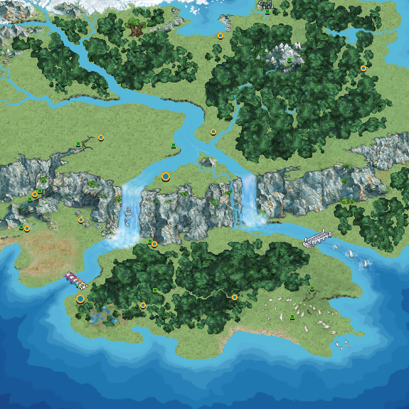 Eserra Region Map by pokemonviolet
