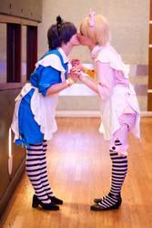 Ciel and Alois Wonderland by mimichols