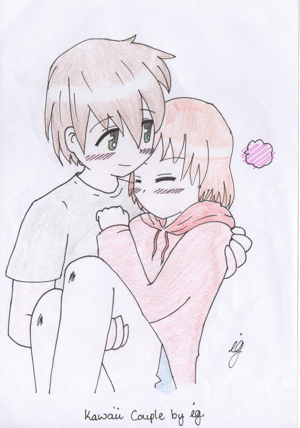 Cute Anime Couple By Umineko93 On DeviantArt