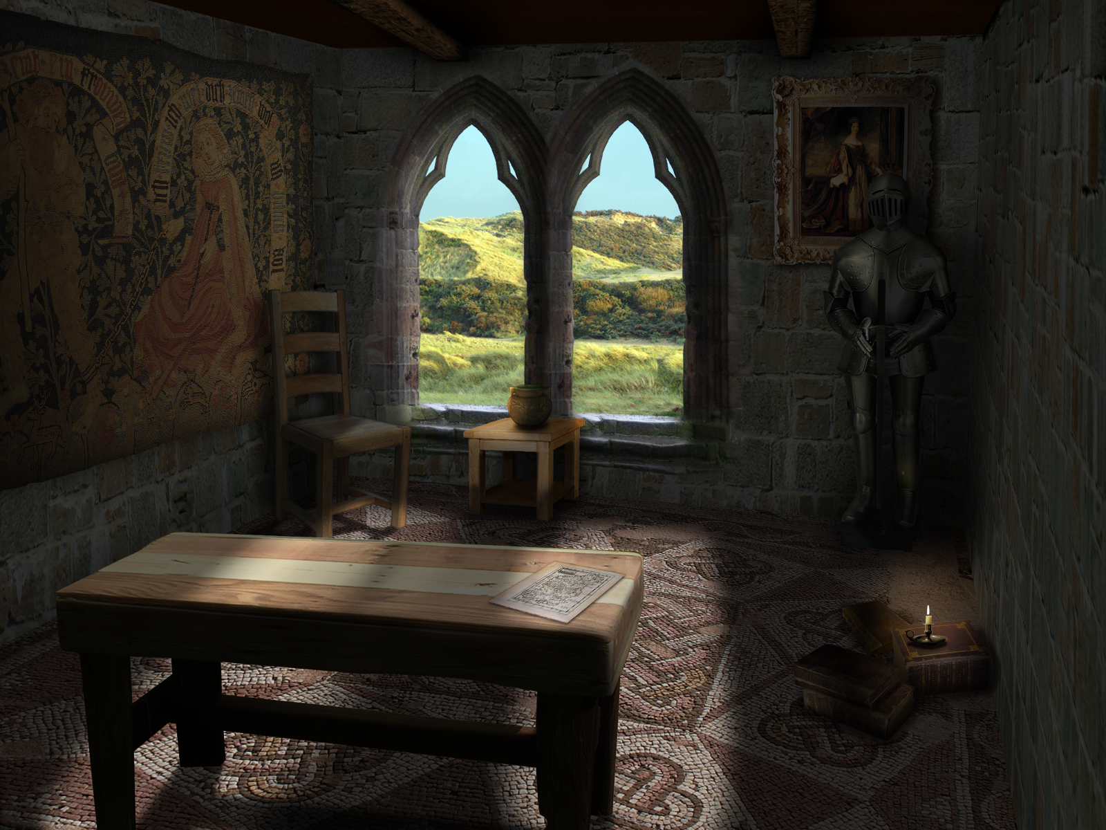 Themed Bedroom Composite Medieval Room By Runninlow0n1nk On Deviantart