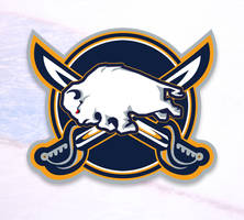 Custom Buffalo Sabres Logo by m0rphzilla