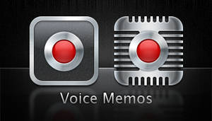 Voice Memo icons for iPhone 4