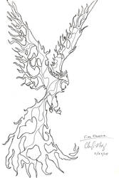 Phoenix of the Flame by Herahkti
