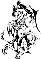 Khrisna's Tattoo by Herahkti