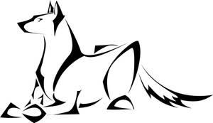 Doggie Tattoo by Herahkti
